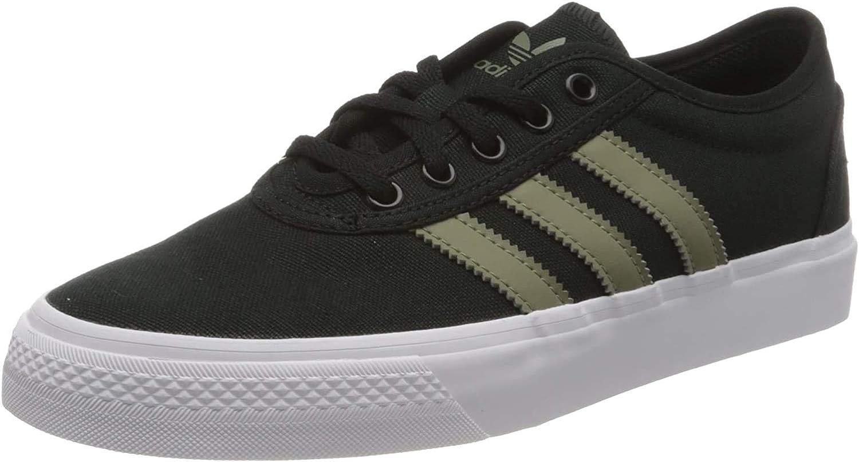 adidas Adi-Ease, Chaussures de Skateboard Mixte Adulte Core Black Legacy Green Ftwr White