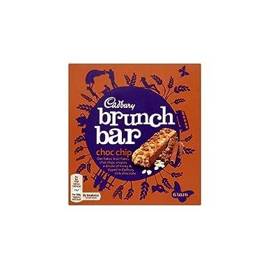 Cadbury Bares Chispas De Chocolate De Brunch (6X32g) (Paquete de 2)