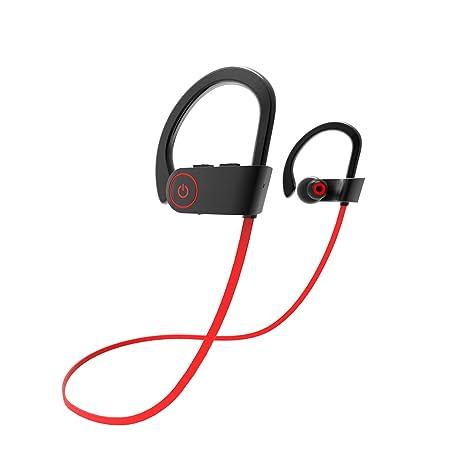 Bluetooth Auriculares, doy Sport Running Wireless IPX7 Agua Densidad de oído Auricular con micrófono para