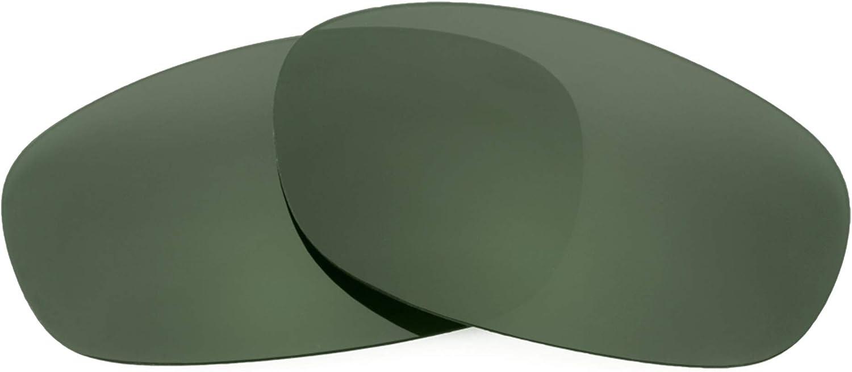 Revant Verres de Rechange pour Costa Luke - Compatibles avec les Lunettes de Soleil Costa Luke Gris Vert - Non Polarisés