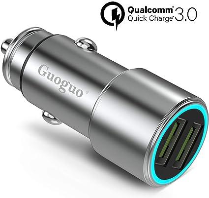 Amazon.com: Guoguo - Cargador de coche rápido USB 3.0 de ...