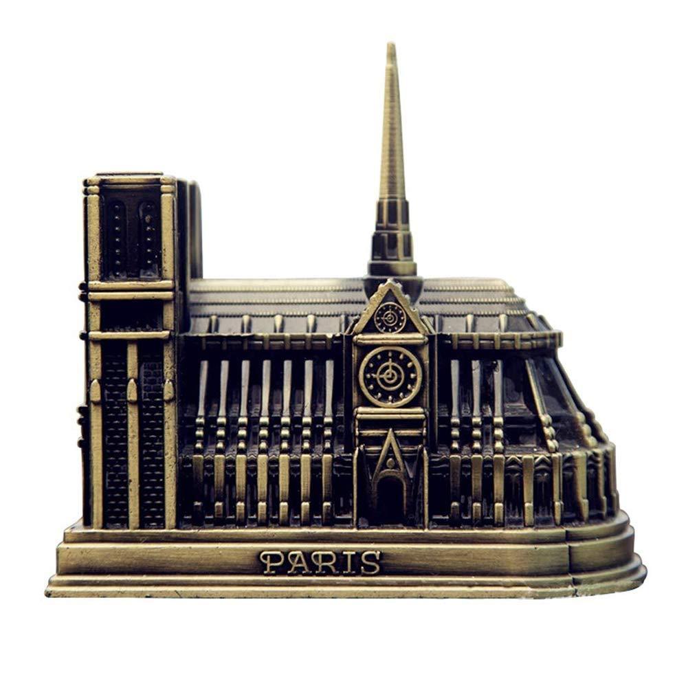 TAQUA Architectural model, Notre Dame model, birthday present