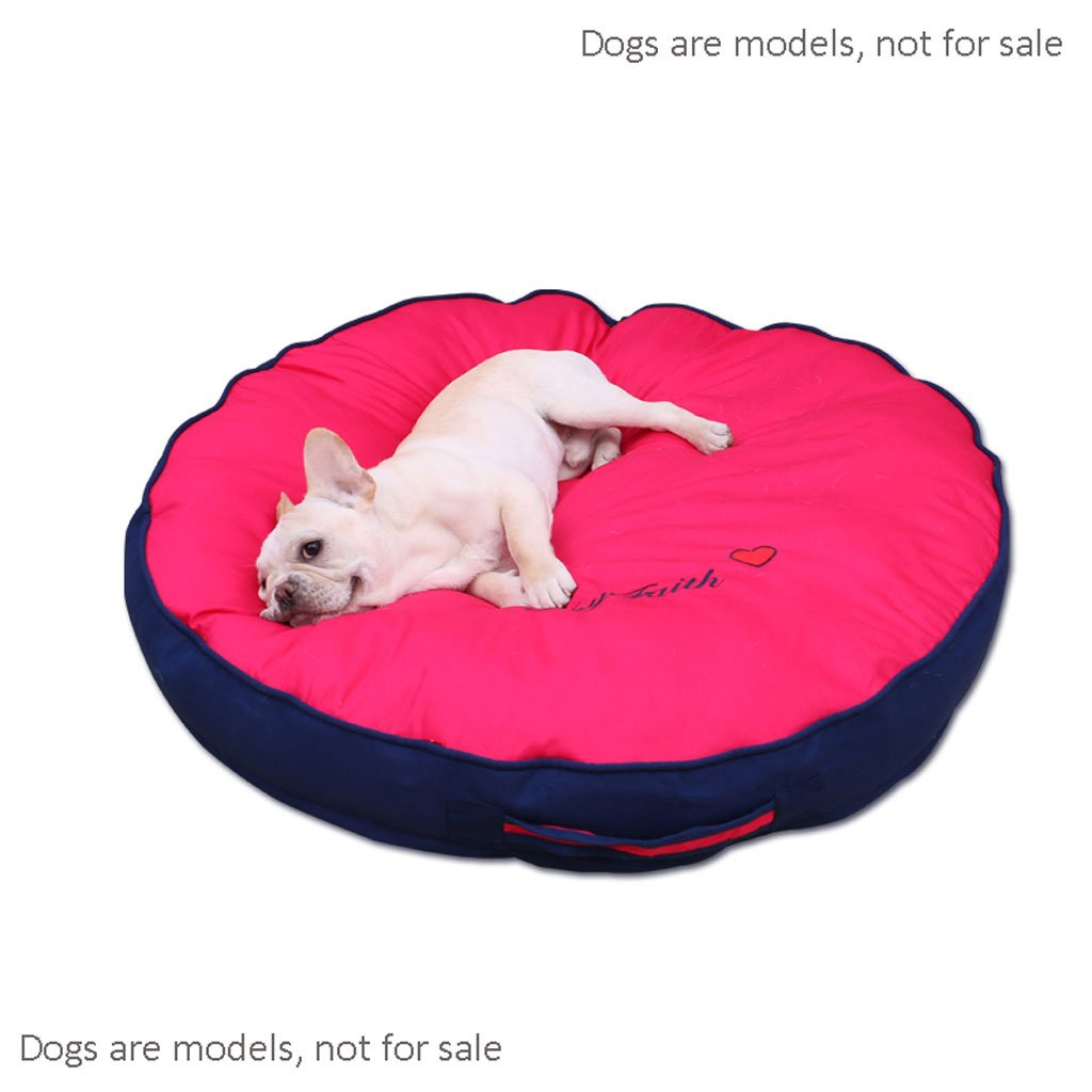 Red XL Red XL MEI Kennels Kennel Mats, Cogi, Pet Supplies, Sleeping Mats, Fighting Mats, Floor Mats, Dog Cage Cushions, Washable, Mattress, Summer, Pet Supplies (color   Red, Size   XL)