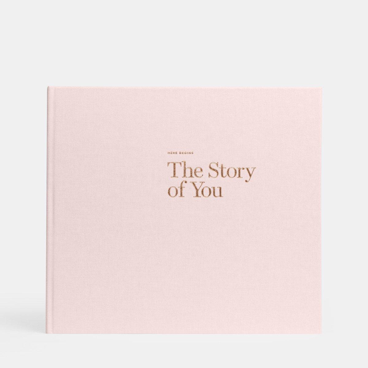 Artifact Uprising Baby Book Photo Album | Baby's First Year Memory Book (Blush Pink)