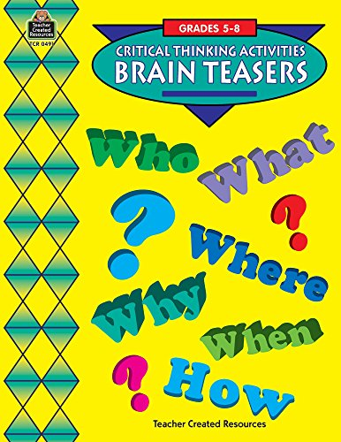 Brain Teasers (Challenging)