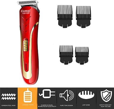 Ballylelly Para KM-1409 Recortadora de pelo con cabeza de acero al ...