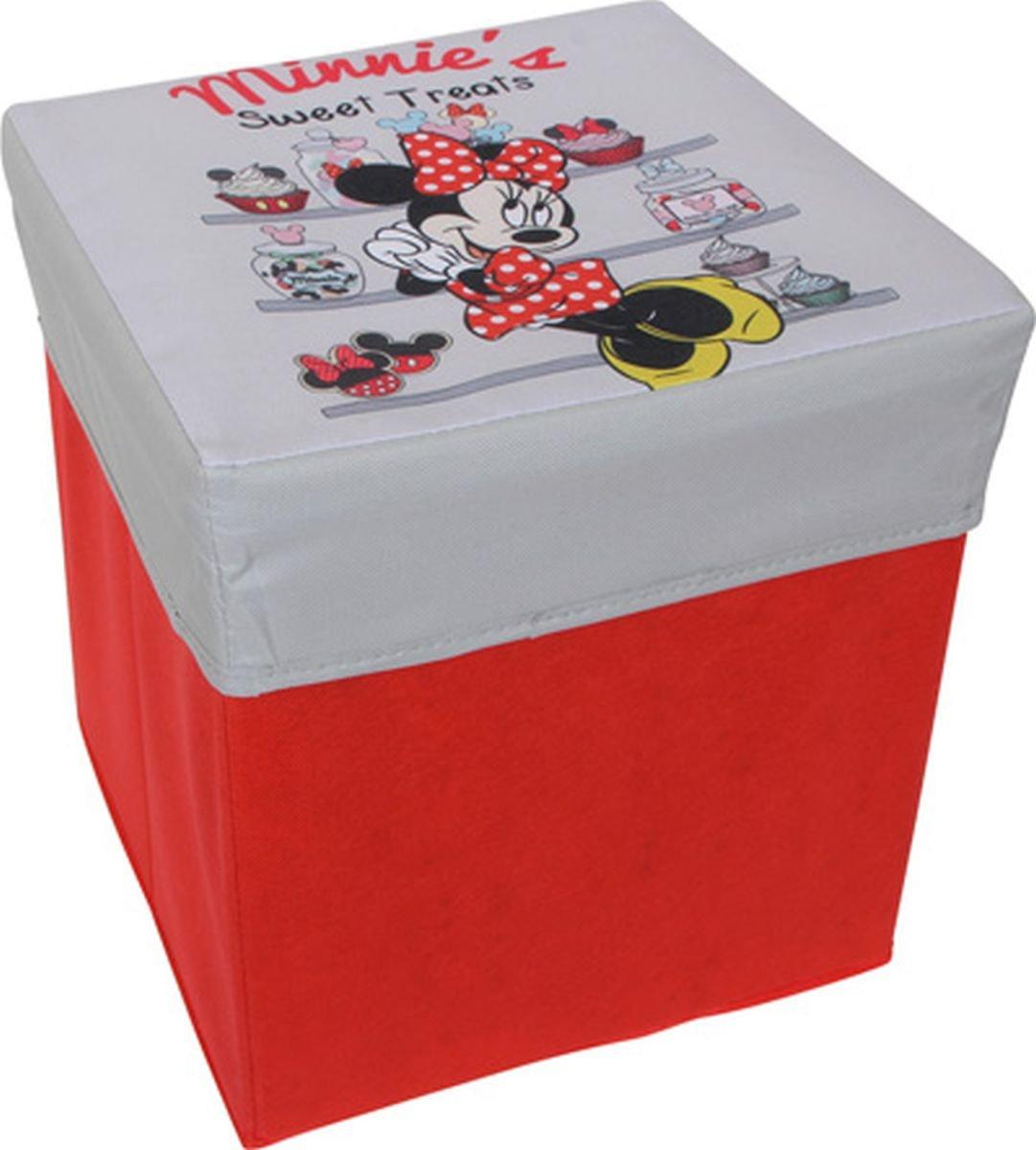 small foot company Minnie Mouse Sgabello, Tessuto, Multicolore 9198 decorazioni; cameretta; bambini