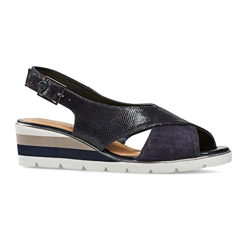 a8b80438c56ff2 Van Dal Madras X Wide EE Fit Sling Back Wedge  Amazon.co.uk  Shoes ...