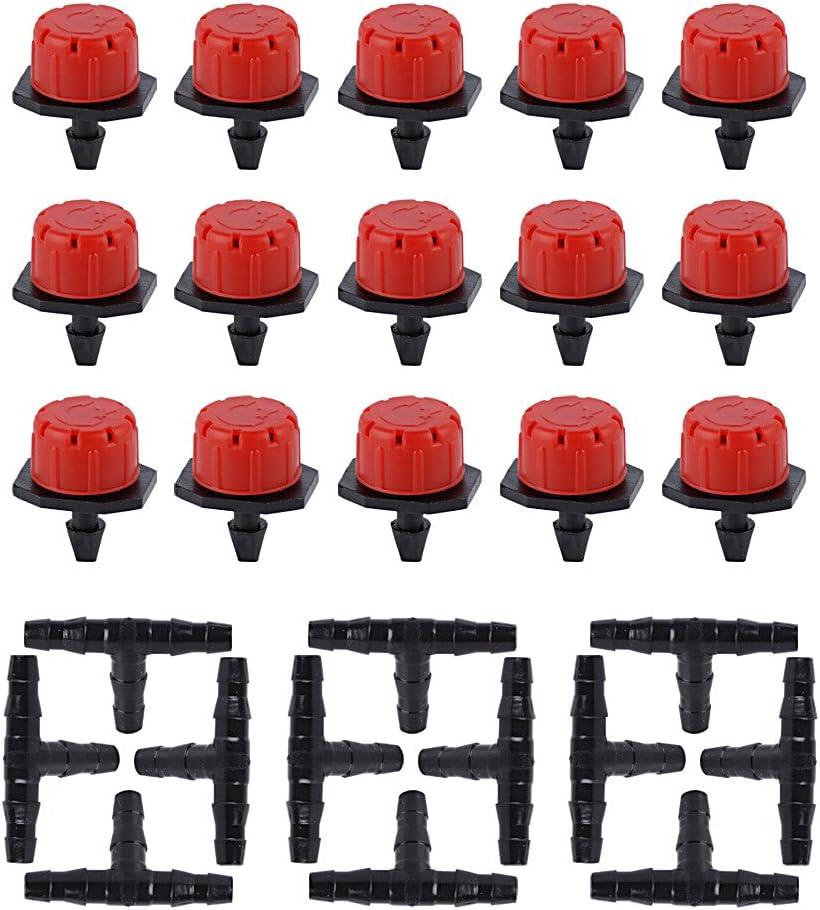 50x Mini Tropfer Tropfbewässerung Garten Micro Drip Bewässerung Tropfdüse100L//h