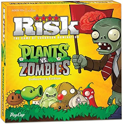 Amazon Com Risk Plants Vs Zombies Game Toys Games