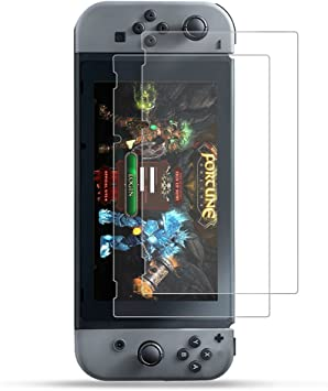 2-Unidades] 2017 Nintendo Switch Protector de Pantalla Hepooya ...
