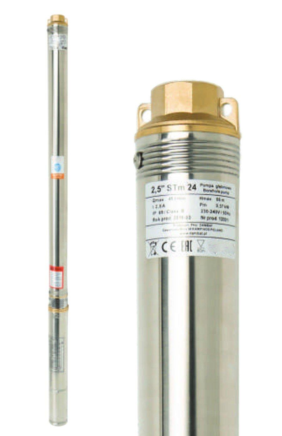 40m de cable 45 l//min 550W r/ésistance sable 230V Pompe immerg/ée 2,5 STM 31