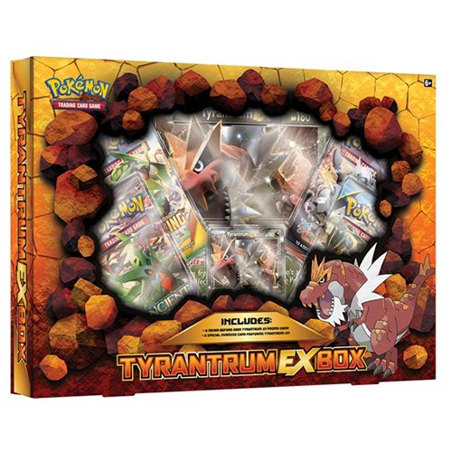 Pokemon TCG: Tyrantrum- EX Box Card Game(Discontinued by manufacturer)
