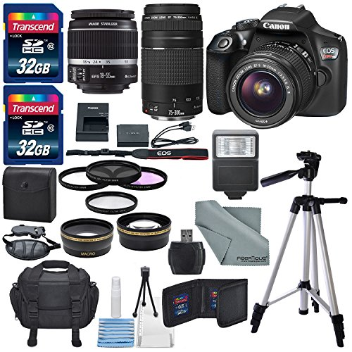 Canon EOS Rebel T6 DSLR Camera with EF-S