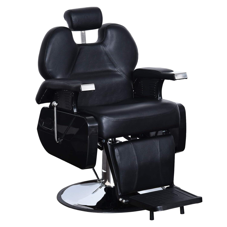 Amazing Barberpub All Purpose Hydraulic Recline Barber Chair Salon Beauty Spa Styling Equipment Black 6154 S8702Bk Short Links Chair Design For Home Short Linksinfo