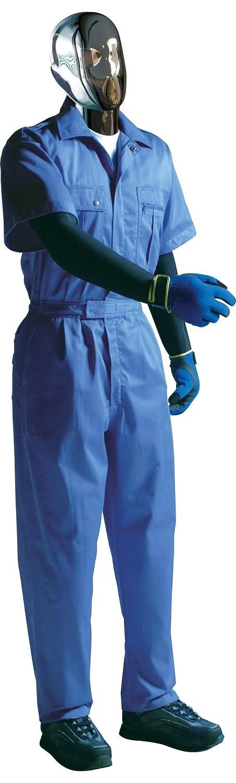 [サンディスク]SUN DISK[ツナギ服]国内染色 綿100% 薄手タイプ 夏用快適 半袖ツヅキ服(044-3-005) B01FEW99I2 4L