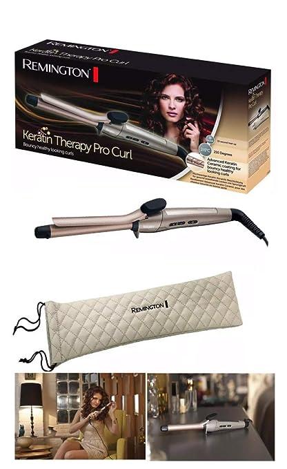 Rizador de pelo para rizador de cabello con rizos de Theratin Pro de Remington