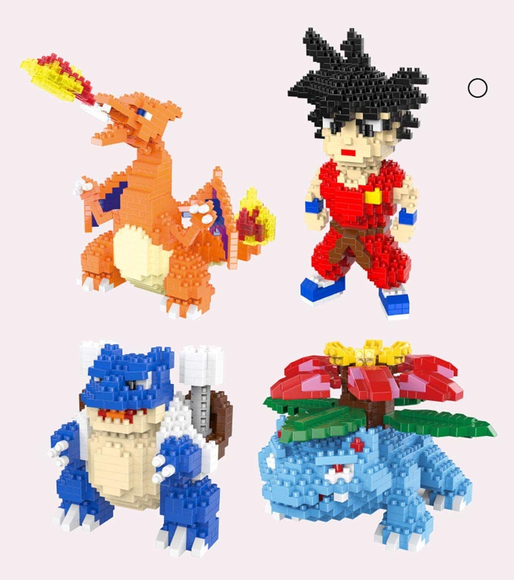 B&H-ERX Conjuntos de Bloques de Construcción para Mascotas DIY Mini Animales Building Blocks Modelo Micro gránulo niños Modelo Educativo Ladrillos Regalos para los niños de Chicas Boy Premios 3+,A