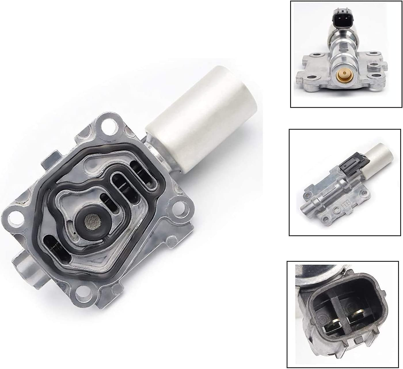 28250-P7W-003 Automatic Transmission AT Clutch Pressure Control Solenoid Valve C with Gasket for Honda Accord Odyssey Pilot Acura MDX TL CL