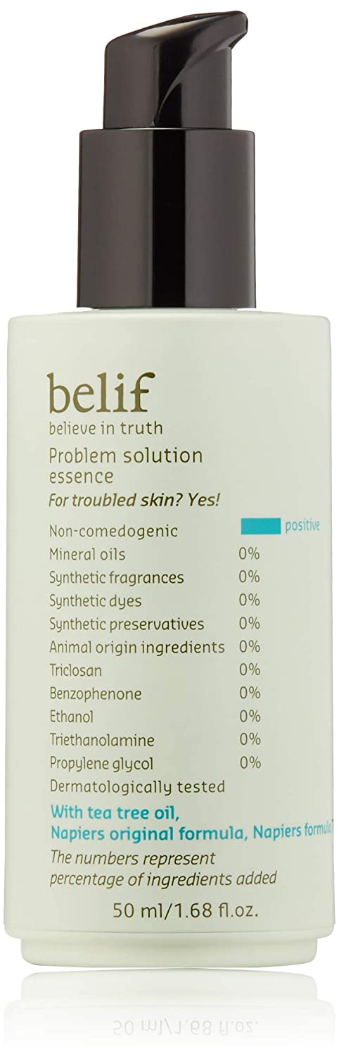   belif Problem Solution Essence   Hydrating Essence for Acne-Prone Skin   Serum, Blemishes, Clean Beauty