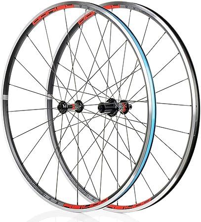 AIFCX Rueda de Bicicleta 700C Set 26/27,5 / 29Inch 32-Hole neumáticos de Las Ruedas de Freno de Bicicletas de montaña V Set. (Quick Release 100G),B-700C: Amazon.es: Hogar