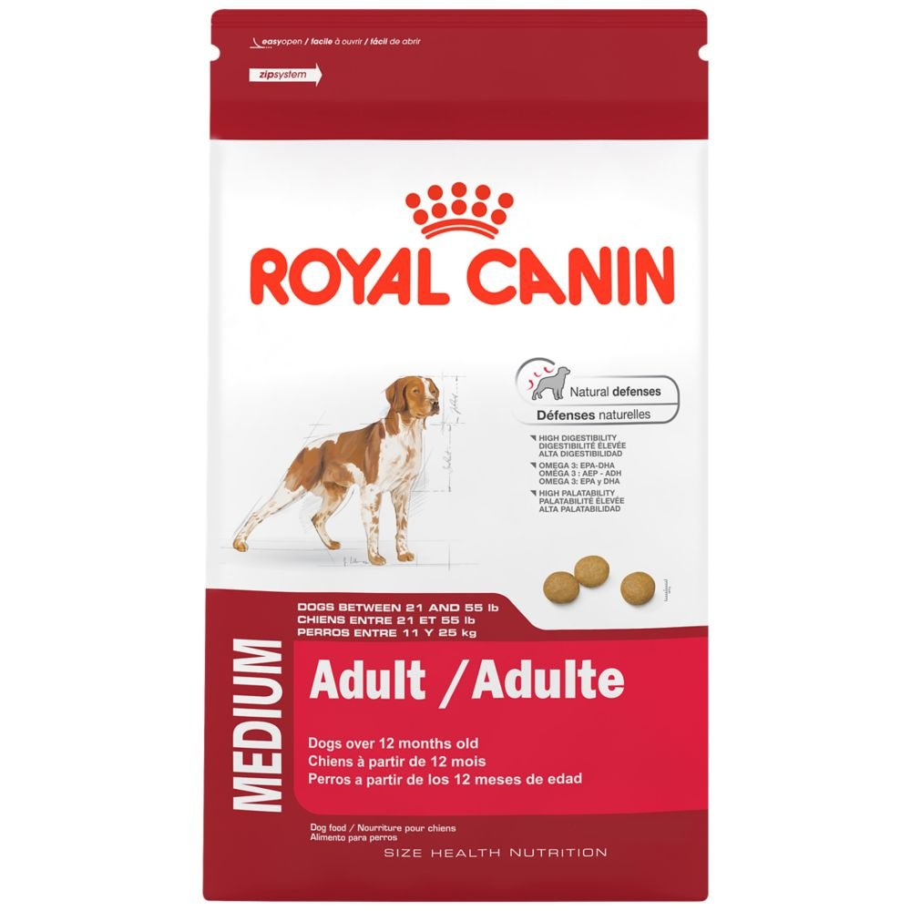 Royal Canin SIZE HEALTH NUTRITION MEDIUM Adult dry dog food, 30-Pound by Royal Canin (Image #1)