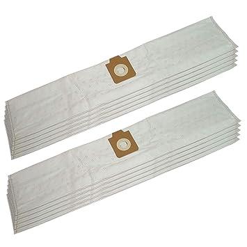 GS20 S11 10x Staubsaugerbeutel Papier für Lorito GS 20 S 11