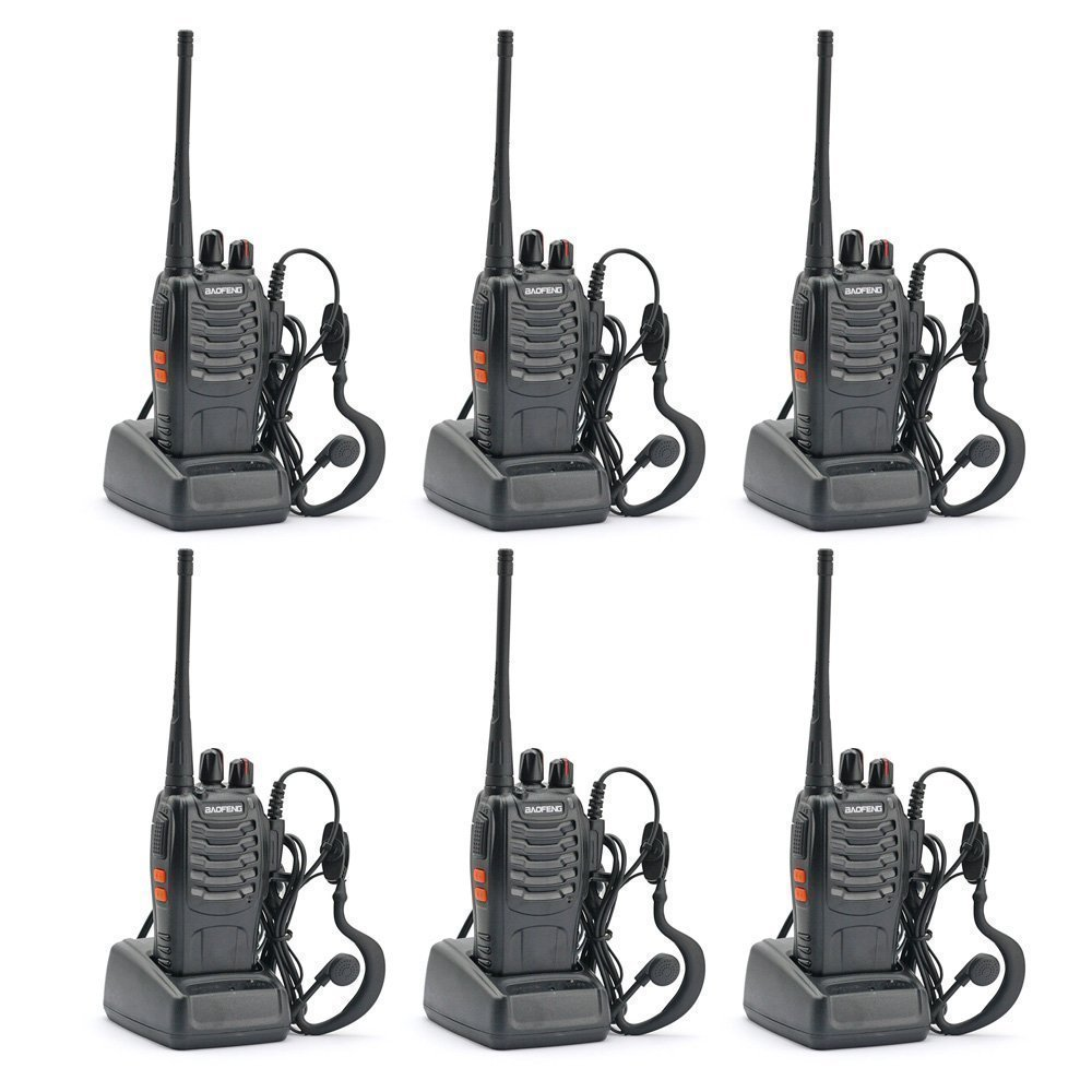BaoFeng BF-888S Two Way Radio (Pack of 6pcs radios)