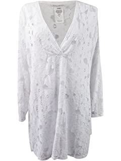 8169ea9933732 Dotti Riviera Paisley Women s Plus Size Cover-Up From at Amazon ...