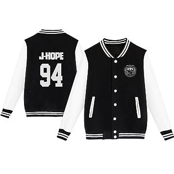 Amazon.com: Dolpind Kpop BTS Varsity - Chaqueta de béisbol ...