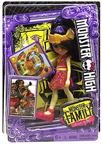 High Cleo Monster De Nile (Monster High Monster Family of Cleo De Nile Pharrah De Nile Doll)