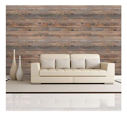 Amazoncom Wall26 Horizontal Brown Vintage And Retro Wood