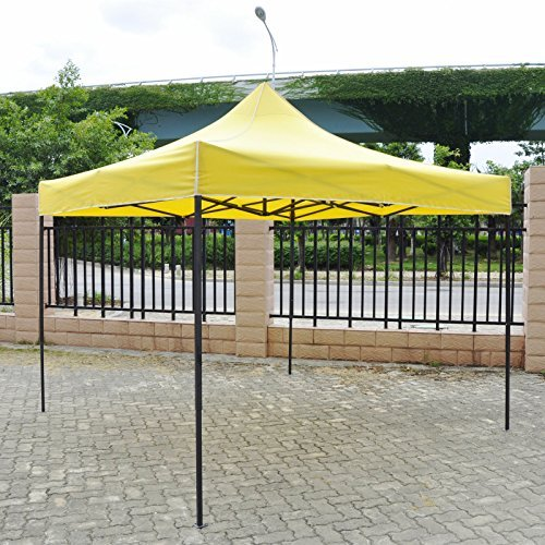 American Phoenix Canopy Tent 10x10 foot Green Party Tent Gazebo Canopy Commercial Fair Shelter Car Shelter Wedding Party Easy Pop Up - Green