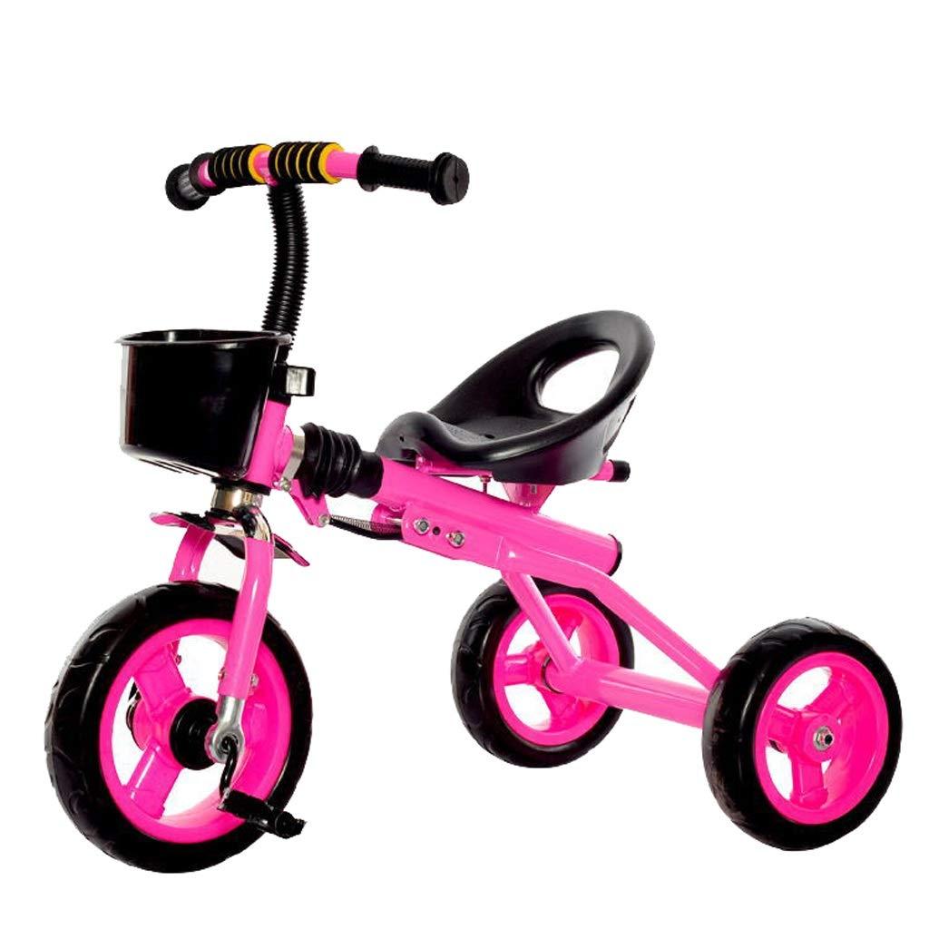 最新作 子供のための折り畳み式の子供の三輪車の赤ん坊の歩行者のトライク3の車輪のバイク B07PS5848T Pink B07PS5848T, 本格派大人のB系XL&ダンス衣装店:e9e04cf7 --- senas.4x4.lt