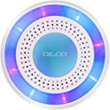 Digoo DG-ROSA 433MHz Wireless DIY Standalone Alarm Siren Multi-function alarm Host & Siren Set for home security&surveillance