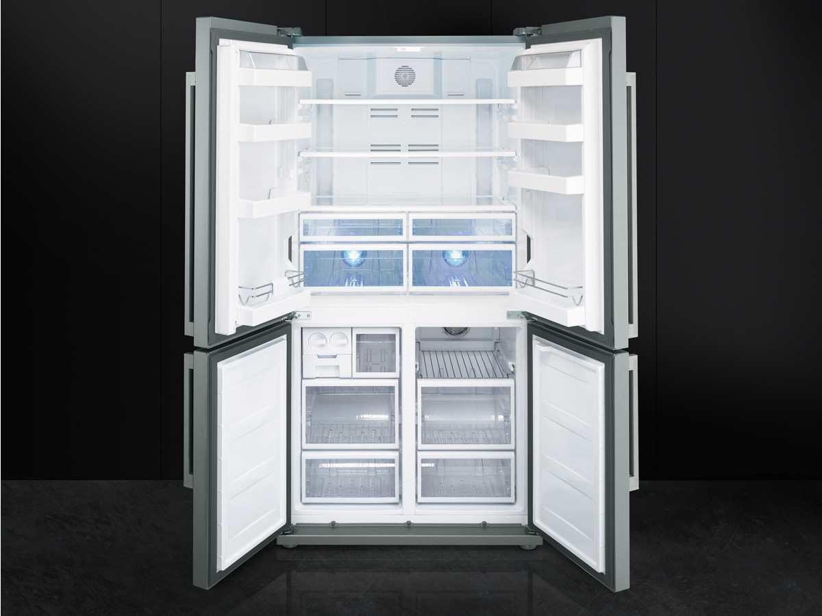 Smeg Kühlschrank French Door : Smeg fq pe kühlschrank a kühlteil l gefrierteil l