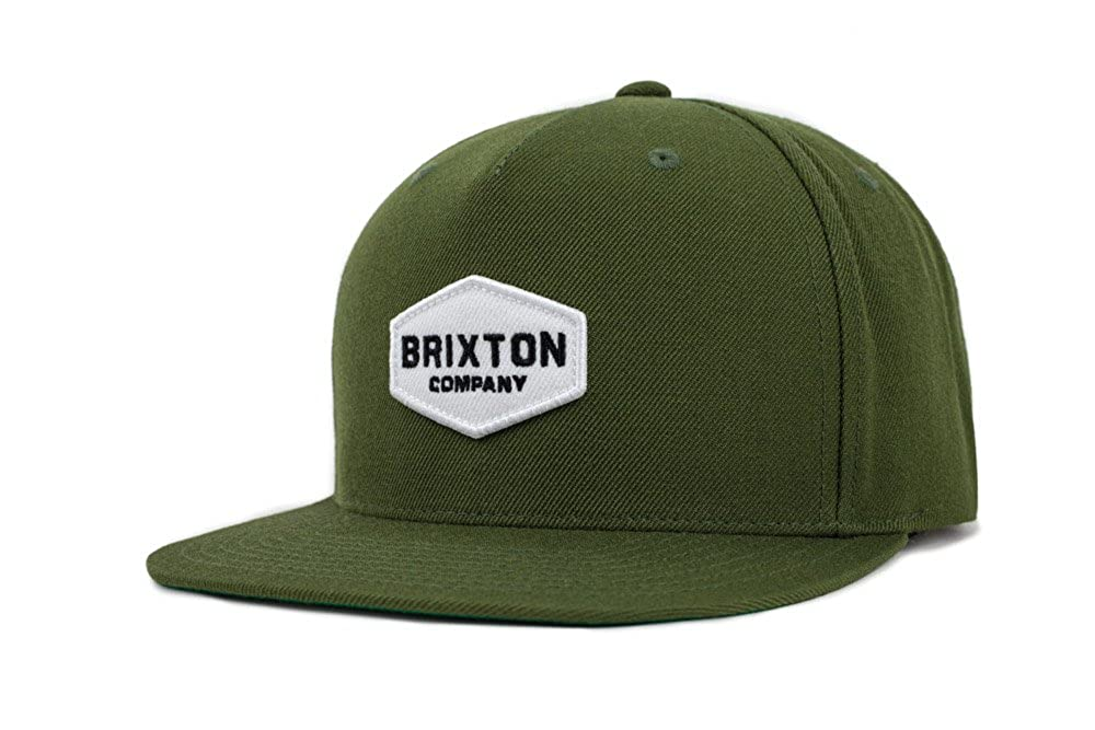 Brixton Mens Standard Obtuse Snapback Black O/S 00758