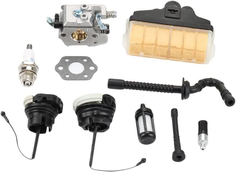 Carburetor Fit STIHL MS250C 021 023 025 Chainsaw Air filter Fuel line WT-286 Car