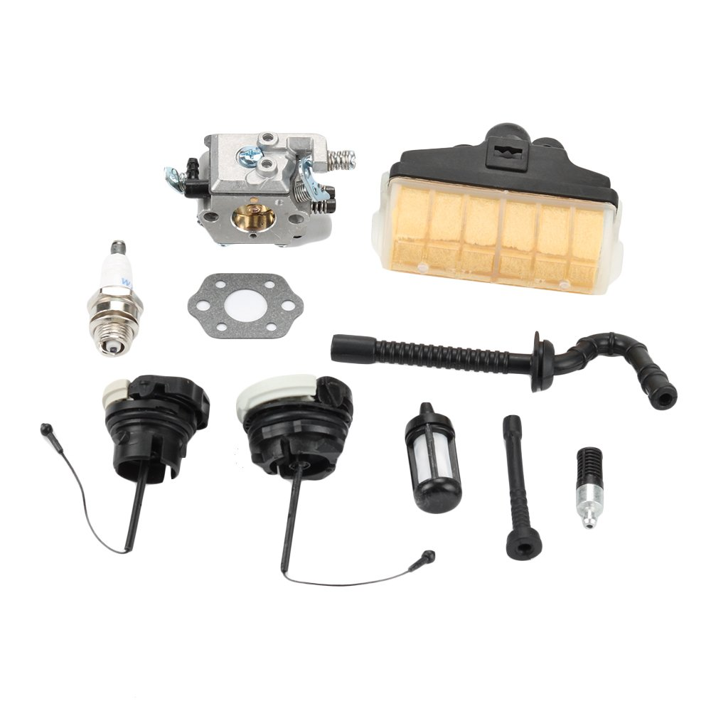 Harbot Carburetor for Stihl 021 023 025 MS210 MS230 MS250 Chainsaw WT286 with Air Filter Fuel Oil Cap Tune Up Kit by Harbot