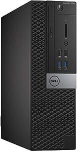 Dell Optiplex 7040 Small Form Business Desktop Computer (Intel Core i5-6500 3.2GHz, 8GB RAM, 500GB HDD, Display Port, HDMI, USB 3.0, Windows 10 Pro 64-Bit) (Renewed)