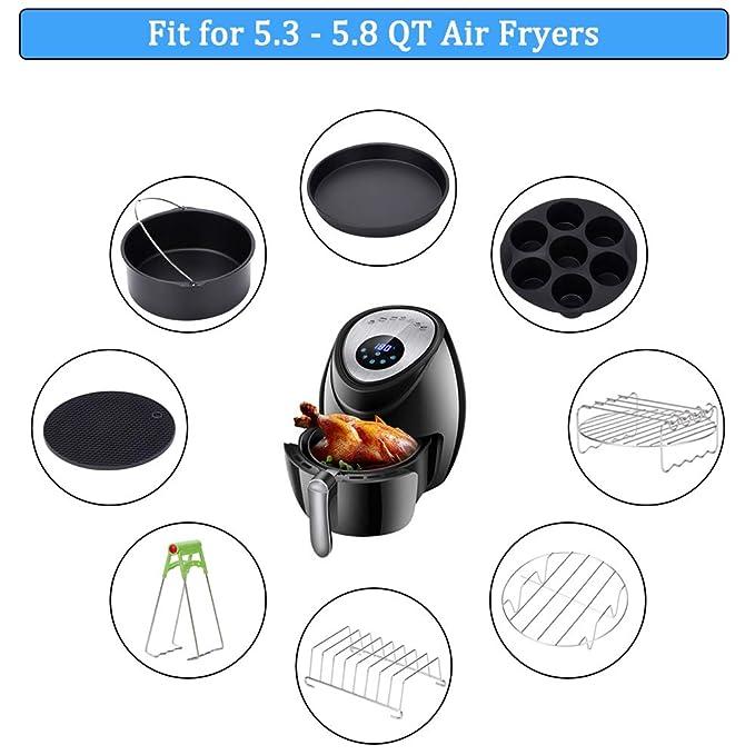 Amazon.com: Accesorios para freidora de aire XL de 8.0 in ...