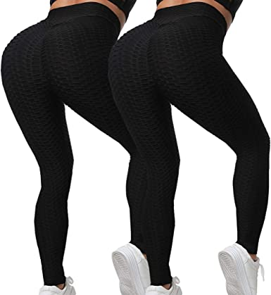 Women Tie-Dye Legging Butt Lift Scrunch High Waist Yoga Pant Workout Gym Fitness