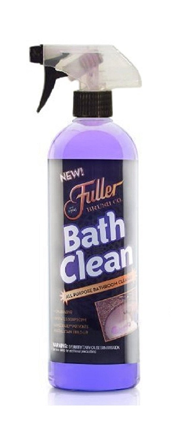 Fuller Brush BathClean Tile and Bathroom Scrubbing Kit with Big EZ Extendable Reach Bath Scrubber & Squeegee by Fuller Brush (Image #3)