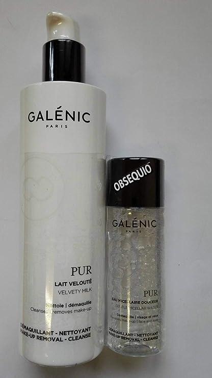GALENIC PACK PUR: LECHE DESMAQUILLANTE 400 ML + AGUA MICELAR 100 ML