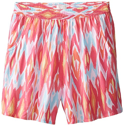 The Children's Place Big Girls' Printed Culotte, Fun Pink, Large/10/12