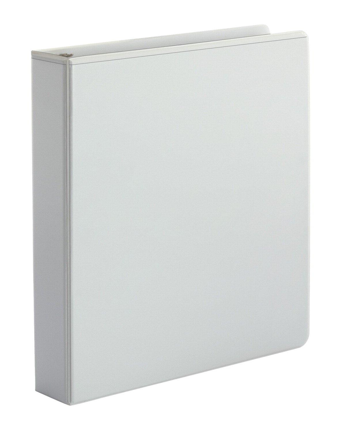 School Smart View Binder - 1 1/2 inches - White