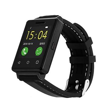 SmartWatch bluetooth reloj inteligente Waterproof Outdoor Unisex Reloj Inteligente de seguimiento, Sedentario Paso Con Alarma