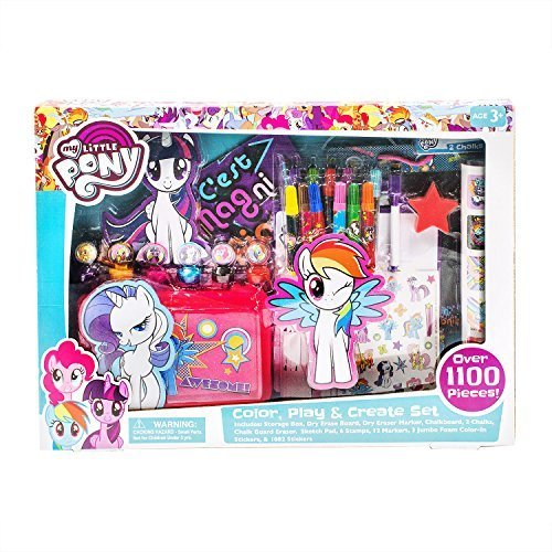 - My Little Pony Color, Play, and Create Set Toy
