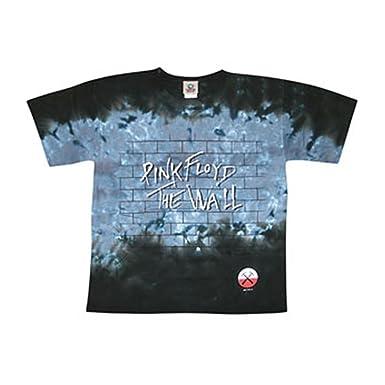 3bd60e43db1030 Amazon.com  PINK FLOYD Brick In The Wall Tie Dye T-shirt  Clothing