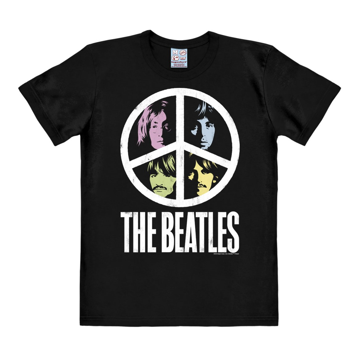 Logoshirt Beatles T Shirt The Beatles Shirt Peace T Shirt